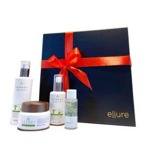 Ellure White Gift Set