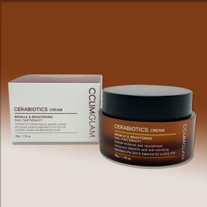 CCLIMGLAM - Cerabiotics Cream Wrinkle & Brightening Dual Functionality 50G