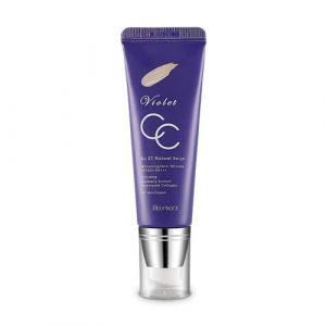 Deoproce Violet CC Cream No.21 (Natural Beige) 50g