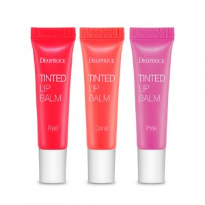 Deoproce Tinted Lip Balm (red) 10g