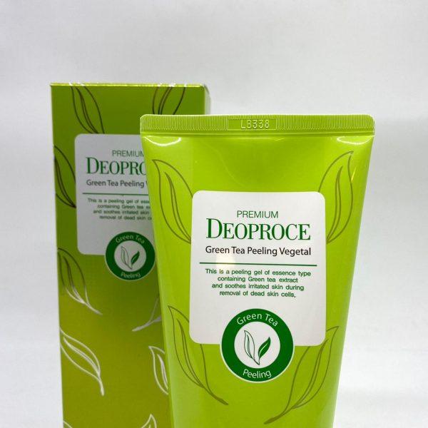 Deoproce Green Tea Peeling Vegetal 170g