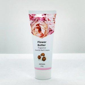 Aspasia Flower Butter Hand & Nail Cream 100g