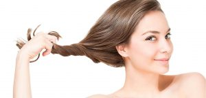 Healthy hair image